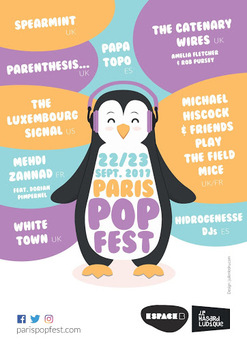 Popfest Paris, le 22 septembre