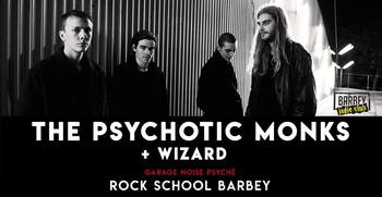 The Psychotic Monks à la Rock School Barbey (Bordeaux) le 2 mai