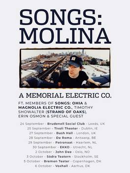 Affiche Songs:Ohia Tribute Stockholm