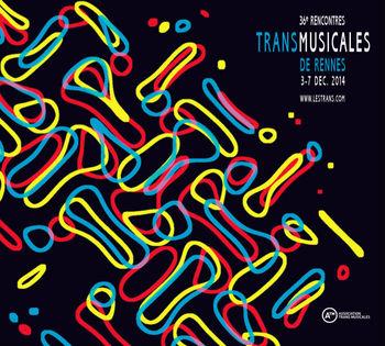 Affiche Transmusicales 2014