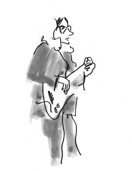 Bassiste de S K R I E T, Strand le 23.03.2012