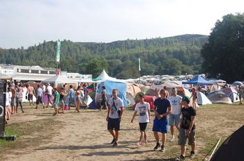 camping festivalier