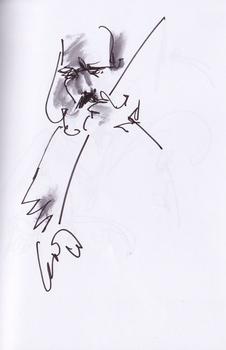 Hailu Mergia (basse) @ Etablissemanget 06.12.13