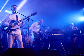 Hot Chip, Festival Les Inrocks VW, 5/11/12