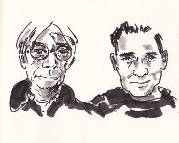 Ryuichi Sakamoto & Alva Noto (affiche)