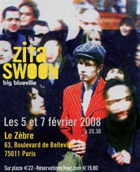 Zita Swoon au Zèbre