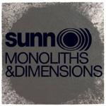 SUNN O))) - Monoliths And Dimensions